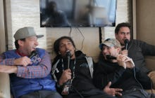 Barstool RV Super Bowl Casting Couch Featuring Panthers Safety Tre Boston