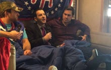 Barstool RV Super Bowl Casting Couch Featuring Ian Rapoport