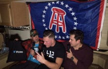 Barstool RV Super Bowl Casting Couch Featuring Colts Punter Pat McAfee