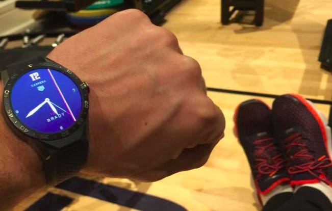 The Clock In Tom Brady's Gym Is Counting Down To Super Bowl 51