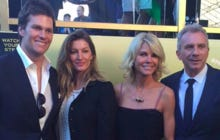 How About Jennifer Montana Stealing The Show In This Picture With Tom Brady, Gisele Bundchen, And Joe Montana?