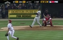 Wake Up With Barry Bonds Hitting The Longest Home Run Tim Salmon Has Ever Seen