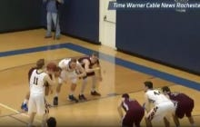 University of Rochester Runs The Best Missed Free Throw Game Winner Ever