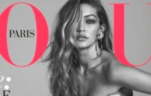 My Girl Gigi Throwing SMOKE On The Latest Cover Of Vogue