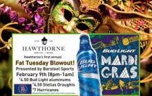 Tomorrow is Fat Tuesday And You're Invited To Hawthorne On U Street To Celebrate