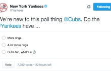 The Yankees Shut Down The Cubs On Twitter