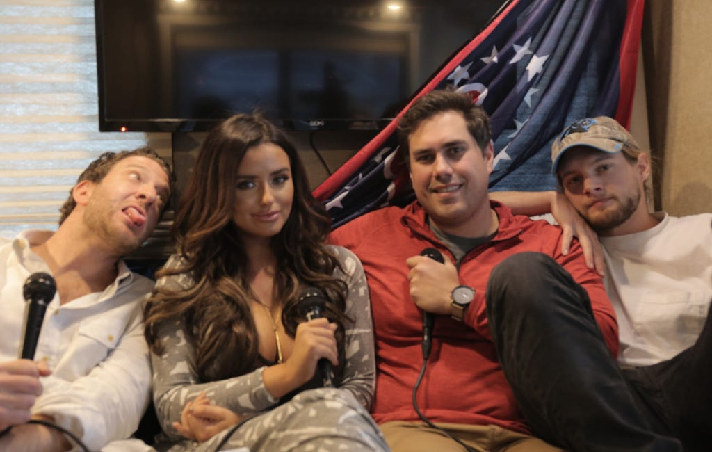 Barstool Casting Couch Featuring Abigail Ratchford