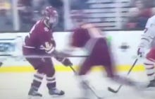 BC Just Won The Beanpot In OT On An Absolutely Ridiculous Shot