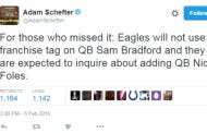 It's Sadly Looking Like The Nick Foles To The Eagles Talk Is As Real As It Gets