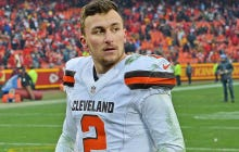 Johnny Manziel Reportedly Showed Up To Practice Drunk And The Browns Lied And Said He Had A Concussion