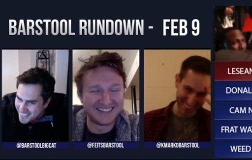 Barstool Rundown – February 9, 2016