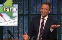 Seth Meyers' Reaction To A Monologue Joke Bombing Was Fantastic