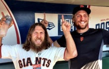 San Francisco Giants, Hunter Pence Bid Farewell To Daniel Bryan