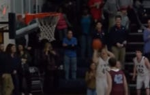 Gotta Love This HS Special Needs Basketball Manager Who Gets Into The Game And MAKES IT RAIN
