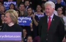 When Did Slick Willy Clinton Stop Looking So Fresh?