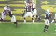 This Video Of Michael Oher Sliding Back As He Blocks During The Super Bowl Is Mesmerizing
