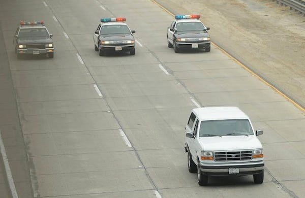 The People v. O.J. Simpson: Episode 2 Recap. The White Ford Bronco Chase
