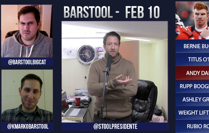 Barstool Rundown – February 10, 2016