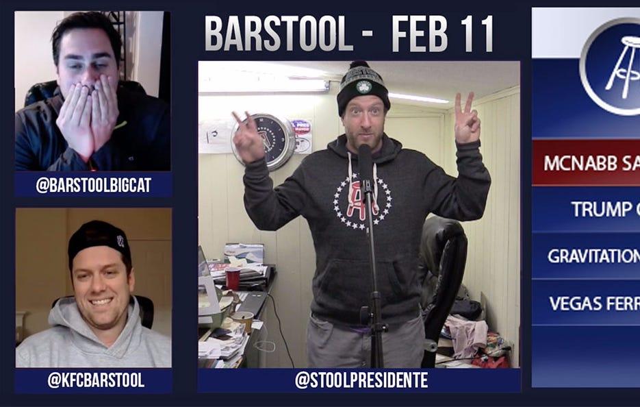 Barstool Rundown – February 11