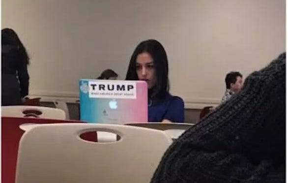 "St. John's Kid Goes Viral With Tweet Saying ""7,000 Retweets And I'll Smash This Bitch's Computer"" About Girl With A TRUMP Sticker On Her Laptop"