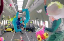 OK Go Made Another Really Cool Music Video – This Time Shooting In Zero Gravity