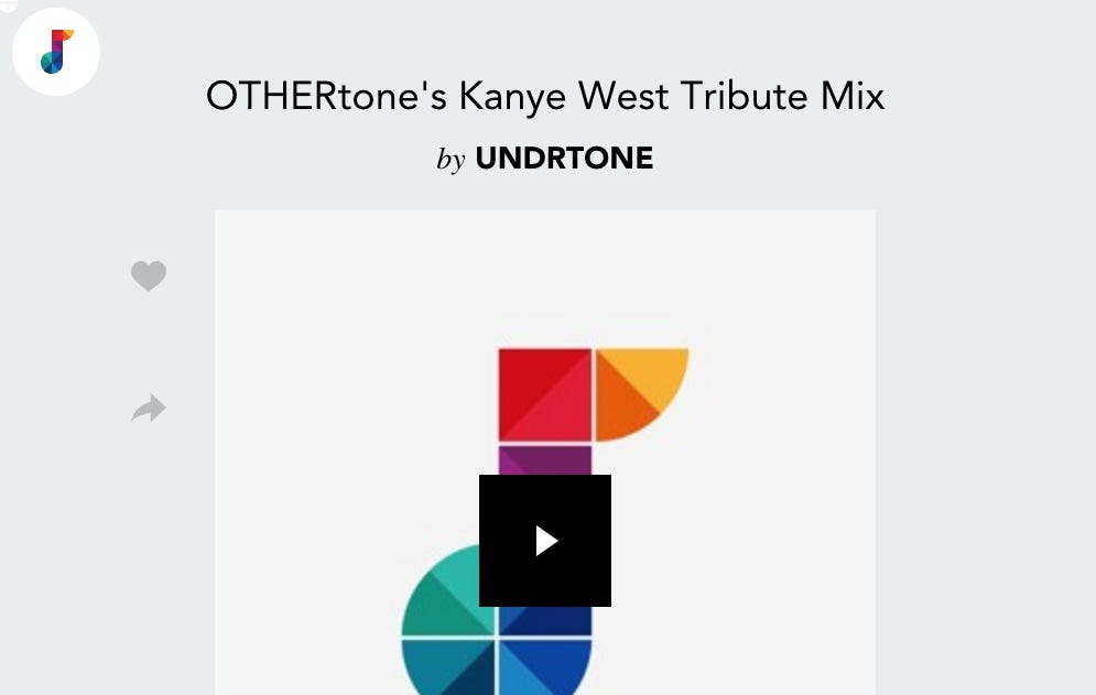 Old School Kanye Mix Takes You Into The Weekend