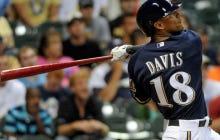 Brewers Trade Outfielder Khris Davis To Athletics