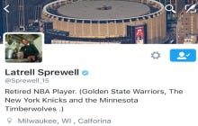 Latrell Sprewell Is Awesome At Twitter