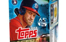 Bryce Harper Is On The Topps Baseball Card Box So I Guess Baseball Cards Are Officially Back