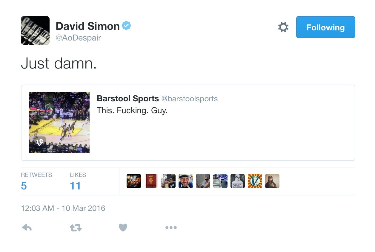 My 10,000 Blogs About The Wire Finally Paid Off - Barstool Sports