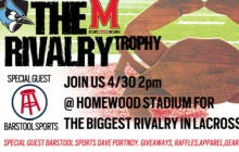 I'm Going To Johns Hopkins Vs. Maryland Lax Game Saturday