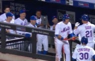 "Curtis Granderson Takes His ""WeFollowLucasDuda"" Stalking To The Next Level"