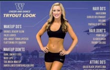 """University of Washington Cheerleading Gets Crushed For Their """"Do's and Dont's"""" Graphic"""
