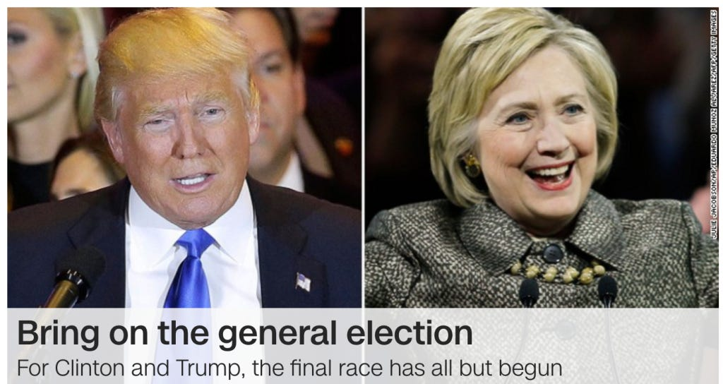 We're Onto The General! Trump & Hillary Have Huge Tuesdays