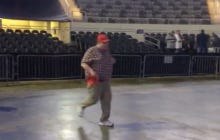 This Big Fella Running To Get A Good Spot At A Trump Rally Is My Favorite Video Of The Day