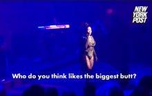 Nicki Minaj Questions Whether Joe Biden Or Donald Trump Likes Big Butts Before Performing Anaconda