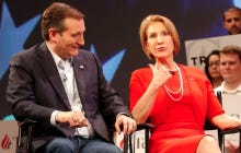 Cruz Back?  Carly Fiorina Says Ted Was Live Betting Straight Cash On The Campaign Bus During Villanova/UNC