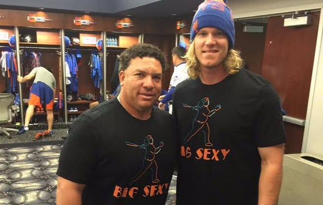 "The Time Noah Syndergaard And Bartolo Colon Told Each Other ""I Love You, Man"""