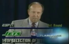 The Classic New York Jets NFL Draft Blunders Video Takes Us Into Draft Night