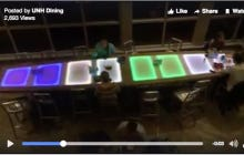UNH Spends $18,000 (1 Year's Tuition) On A Light Up Dining Hall Table