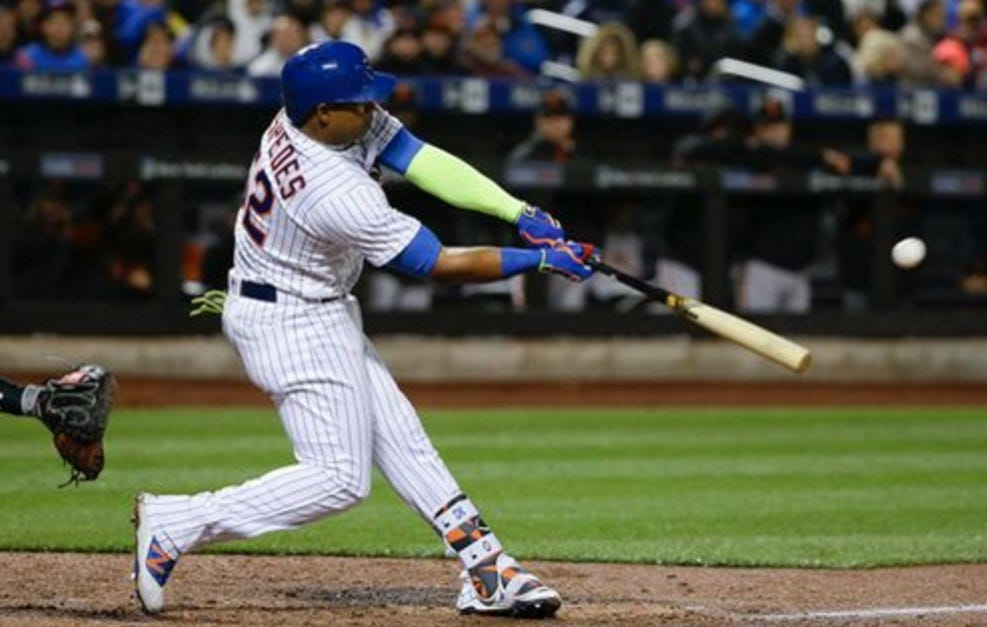 Mets Set Franchise Record With 12 Runs In One Inning Thanks To Cespedes Driving In 6