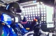 Dale Earnhardt Jr's Steering Wheel Pops Off In The Middle Of A Race