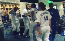 Dodgers Celebrate Snapping Their 6-Game Losing Streak With A Running Man Video