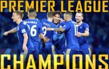 5,000-1 Longshot Leicester City Wins The English Premier League