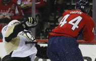 Caps Will Look To Bounce Back Against The Penguins Without Brooks Orpik For The Next 3 Games