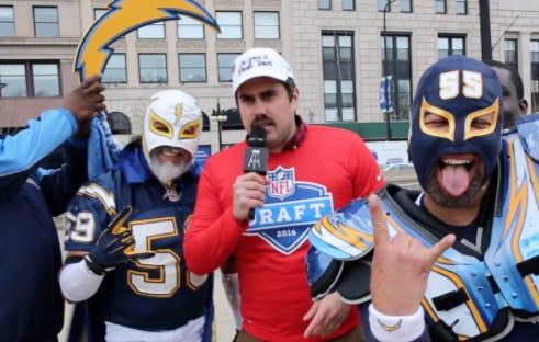 ICYMI – Big Cat Does The 2016 NFL Draft