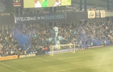 MLS Fans Create Game Of Thrones Themed Section Behind The Goal