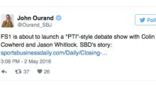 FS1 Is Creating A PTI Style Show With Cowherd And Whitlock
