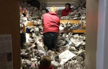 Iowa State Kids Prank Their Friend By Filling His Dorm With 20,000 Newspapers