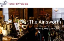 Raise Your Glass To Pete Frates And The Fight Against ALS This Thursday At The Ainsworth